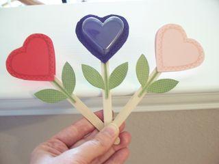 Sweetheart Flower Valentines