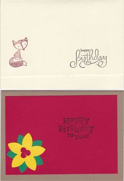 Cards by mady