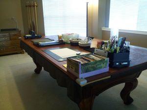 Craft Table Full