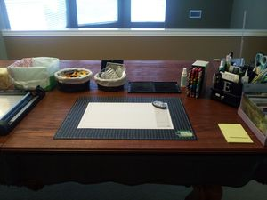 Craft Table Where I Stand