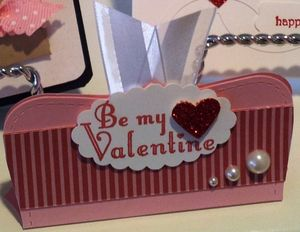 Top note Valentine's favor, Stampin' Up!