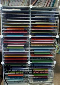 Full-Size Card Stock Storage