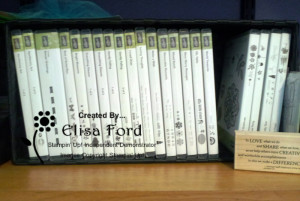 stamps in DVD case