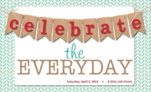 Celebrate the Everyday... with Girls, Ink! - Visit http://www.mirrorimagecrafts.com for details and more projects!