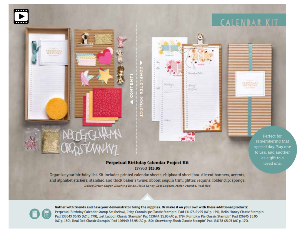 Perpetual Calendar Kit 2015