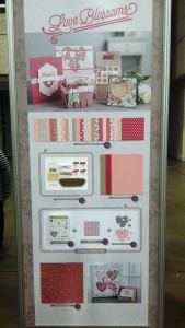 Love Blossoms Suite display