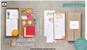 perpetual calendar kit