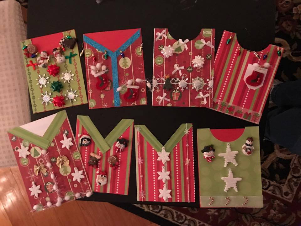 Ugly Christmas Sweater... CARDS!